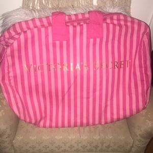 Victoria's Secret Large striped tote bag